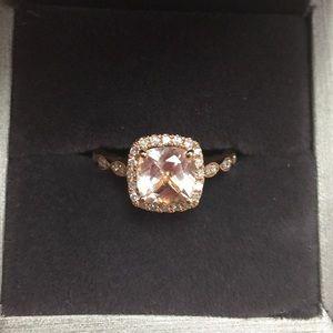 Jewelry - Pink Morganite Ring 14k Rose Gold